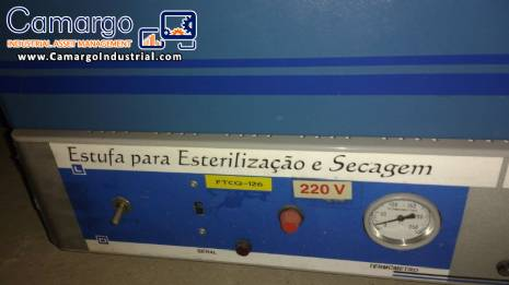 Pharmaceutical oven for sterilization and drying Tecnal