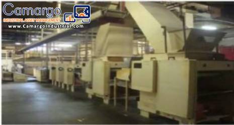 Cookies cracker lamination line Baker Perkins