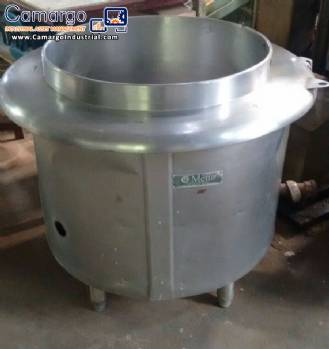 Cooker for food with 50 liters