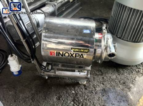 Centrifugal pump with shear-N