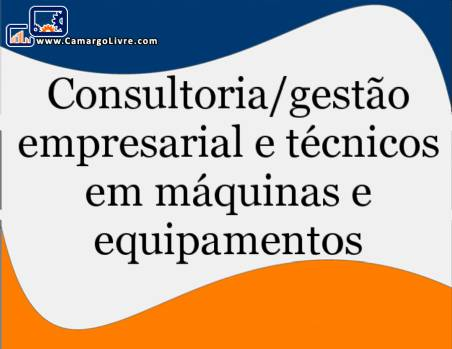 Equipment and machines for technical consulting