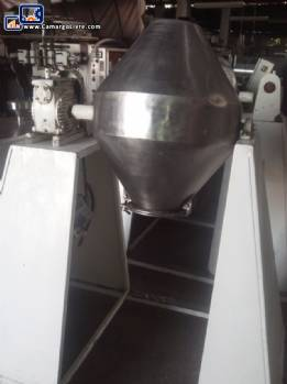 Industrial double cone mixer 50 litres