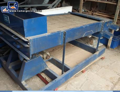 Vibrating screen double rice Thomé