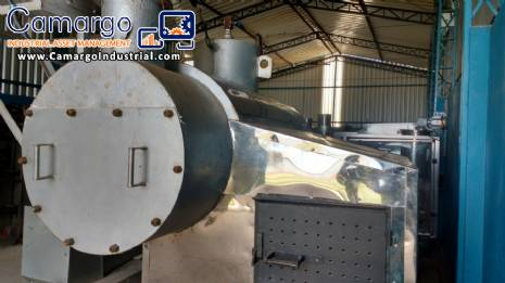 Boiler to generate steam 400 kg h W.V.W