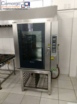 Combined oven in stainless steel Prática