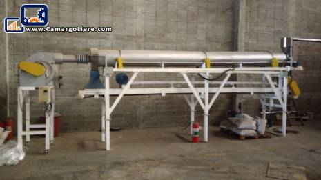 Line for extrusion of animal feed 120 kg / h Inbramaq