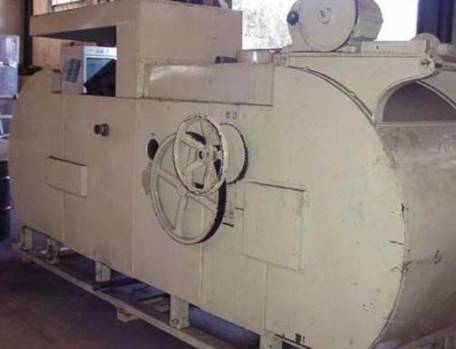 Industrial rotary kiln for wafer manufacturer Haas