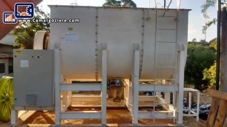 Ribbon mixer Blender stainless steel 8,000 liters