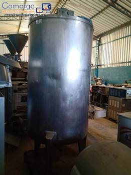 Stainless steel tank 1,200 L