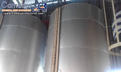 Tank tanks for grease for 10 tonnes