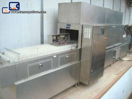 A dishwasher inox brand Semco