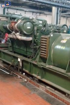 04 diesel generators GM engine of 1,250