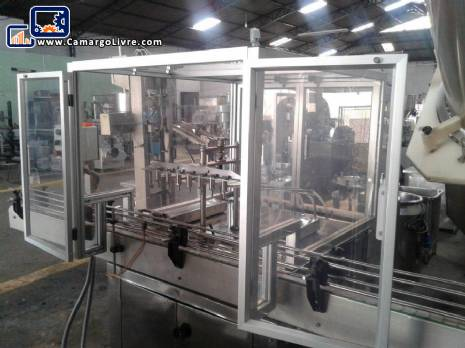 Filling machine with pistons 7 - N