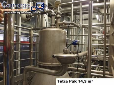 Complete line for pasteurization Tetra Pak