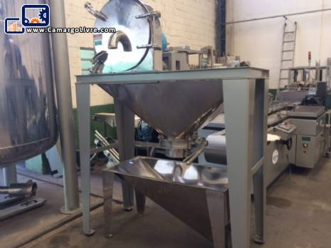Stainless steel industrial mill Tigre