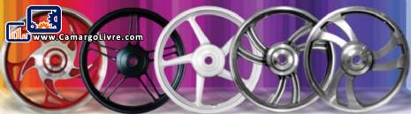 Metallurgical industry for the manufacture of wheels