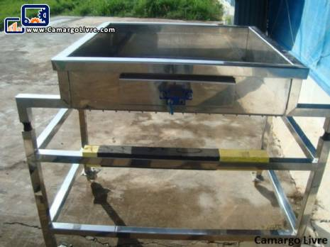 Stainless steel sieve lift conveyor