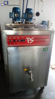 150 L ice cream pasteurizer Polo Sul