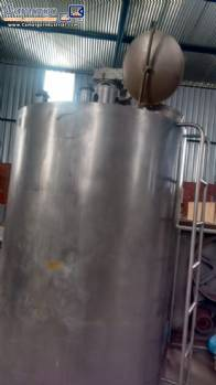 Stainless steel storage tank for 3.000 L Brasholanda
