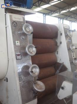 Chocolate refining cylinder with 5 rolls Hermann