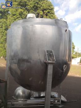 Stainless steel tank 4000 litre
