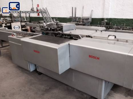 Cartoning machine Bosch