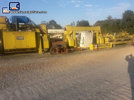 Crane driven by tires CSM for 20 ton