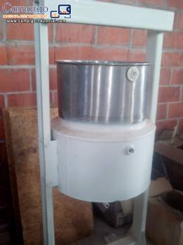 Stainless steel jacketed Pan