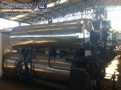 Autoclave industrial manufacturer Rotomat  stock