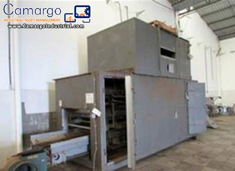 Oven drying cereal snacks for 2,500 kg / h Wenger Machine