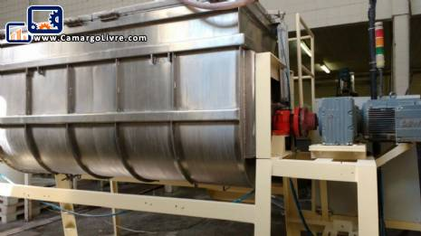 Ribbon Blender stainless steel 2000 L