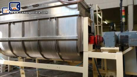 Ribbon Blender stainless steel 2000 L