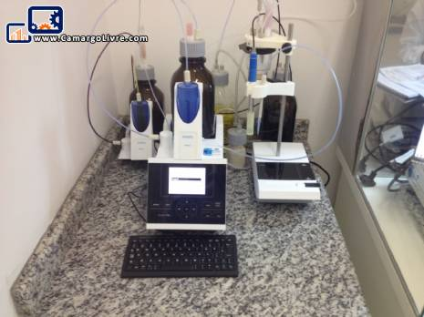 Set of lab machines