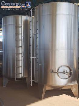 Stainless steel tank maturation type Etscheidzter